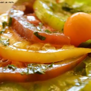 Tartare 3 tomates Basilic 2