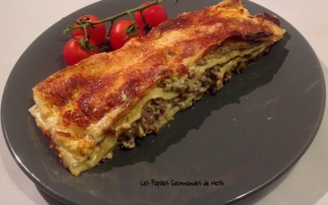 lasagne aubergine gorgonzola