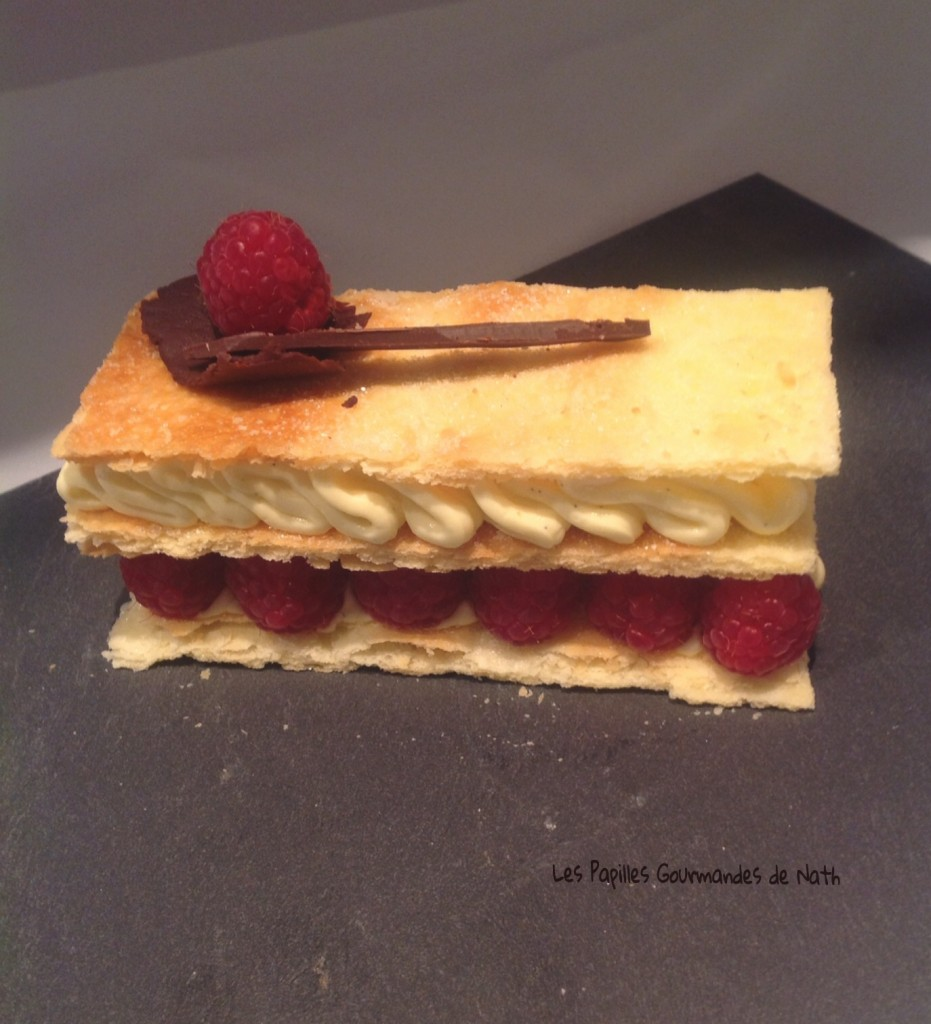 millefeuille framboises 2