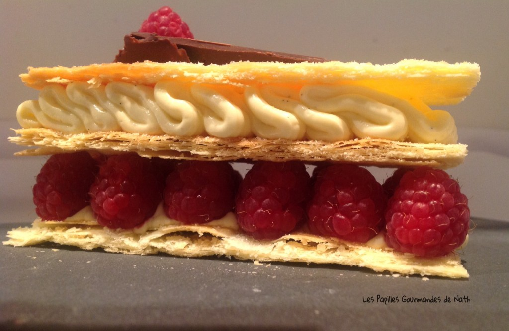 millefeuilles framboises 1