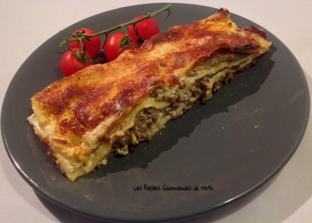 Lasagnes aubergines gorgonzola
