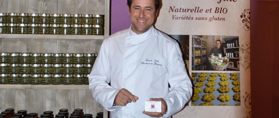 Franck Valot Artisan Biscuitier- Vallauris - Salon du Chocolat à Monaco