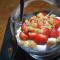 Fraises chantilly fraises citron vert et strudel 2