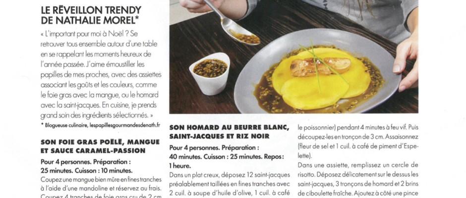 Article Elle Magazine décembre 2015