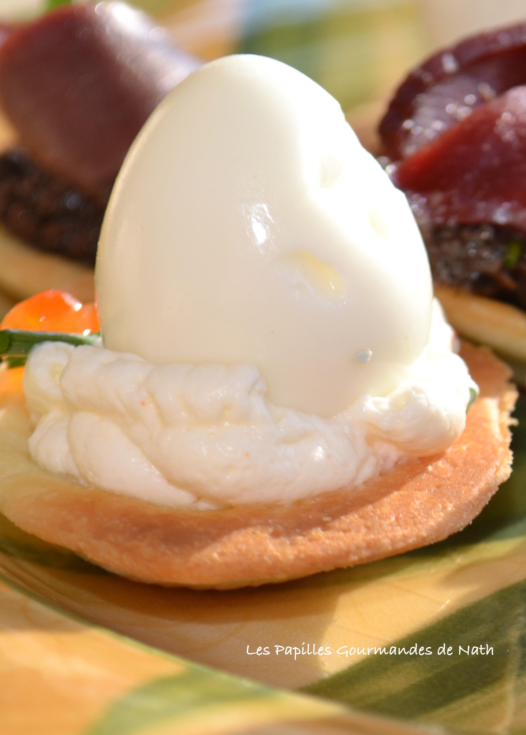 Tartelettes Oeufs de Caille