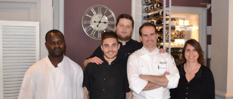 Dans la cuisine... du Chef Guillaume Arragon  - Le Bistrot Gourmand Cannes