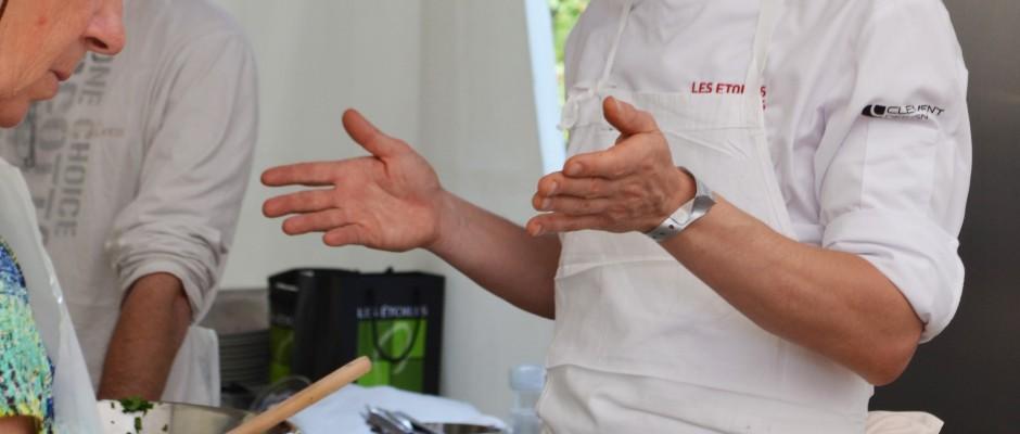 Les Etoiles de Mougins 2016  Atelier du Chef Yoric Tieche La Passagère 1*