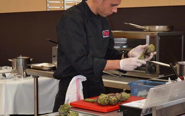 Concours Jeune Chef Etoiles de Mougins 2017 - Nicolas Leclair