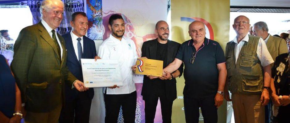 Remise du titre de Maître Restaurateur au Chef Rédouane Mansouri au Restaurant le Blue Pearl