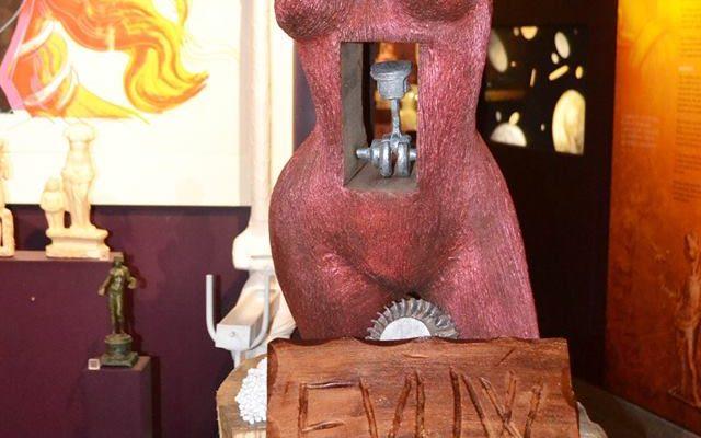 Musée MACM Les sculpture en chocolat Etoiles de Mougins 2017