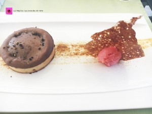 Dessert tarte chocolat